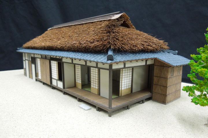 名古屋市教育委員会の古民家の保存建築模型