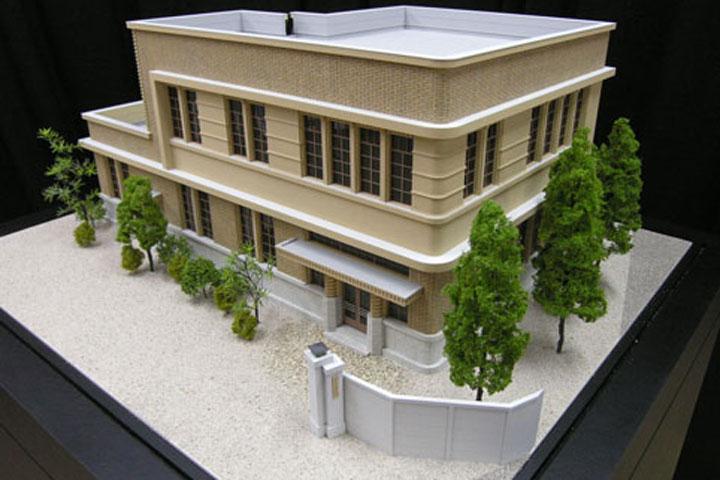 中部ガス株式会社の旧本社社屋の建築模型