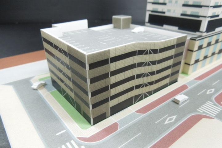 卓上で使用できる紙模型