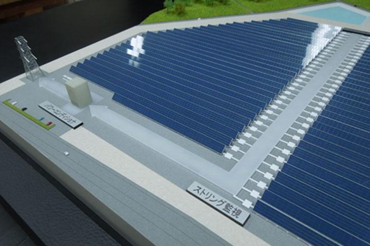 太陽光エネルギー模型