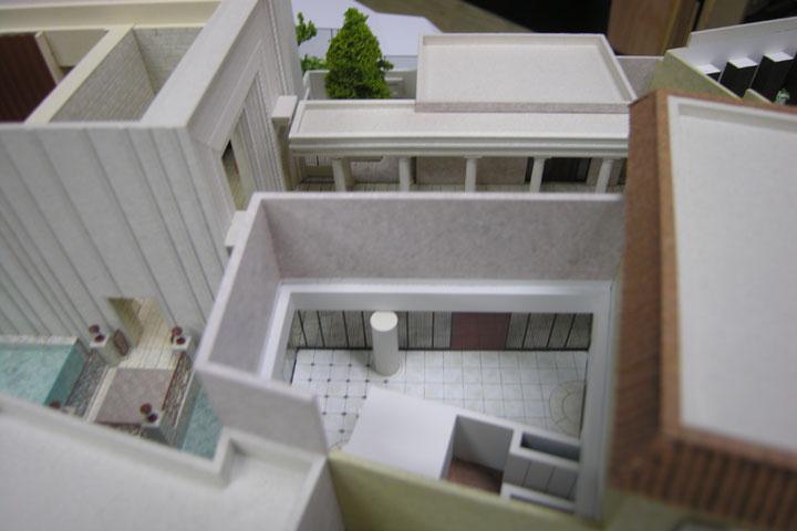 覚王山のル・アンジェ教会の建築模型