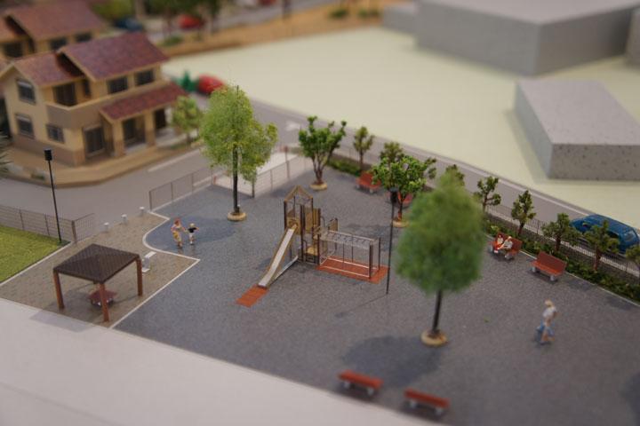 建売住宅物件の建築模型
