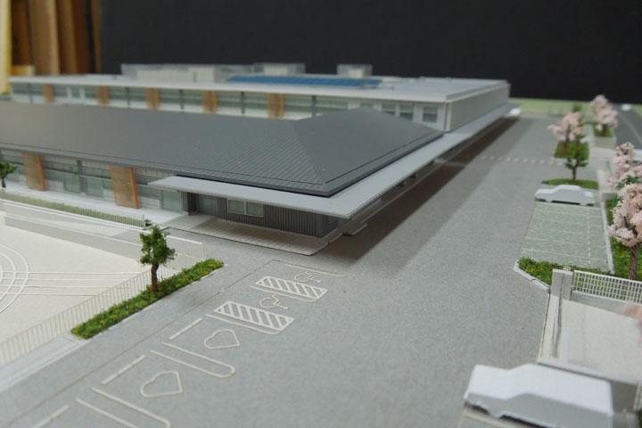 特別支援学校の建築模型