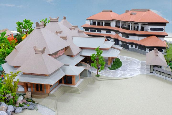 特殊な研修施設の建築模型の傑作