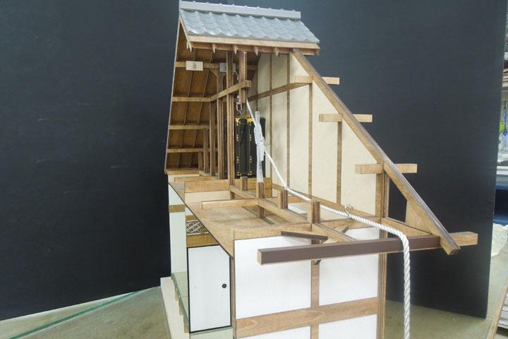 木曽三川公園管理センター様のご依頼により動く模型