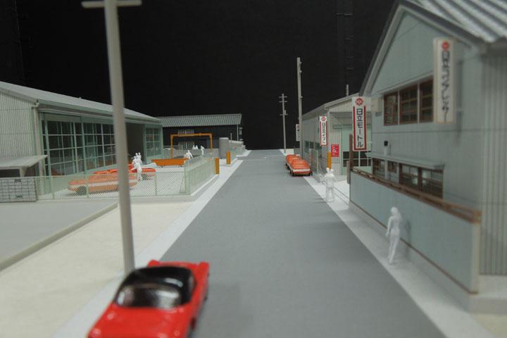 テックササキの旧熱田の工場模型