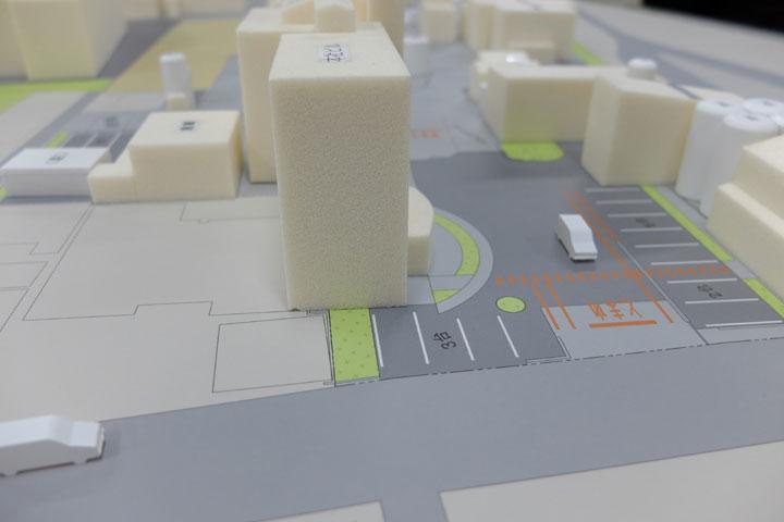 太田油脂本社工場の模型