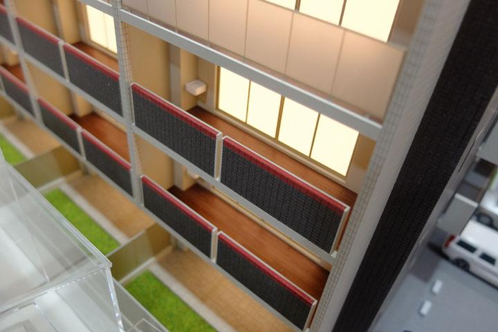セキスイハイム東海のマンション模型