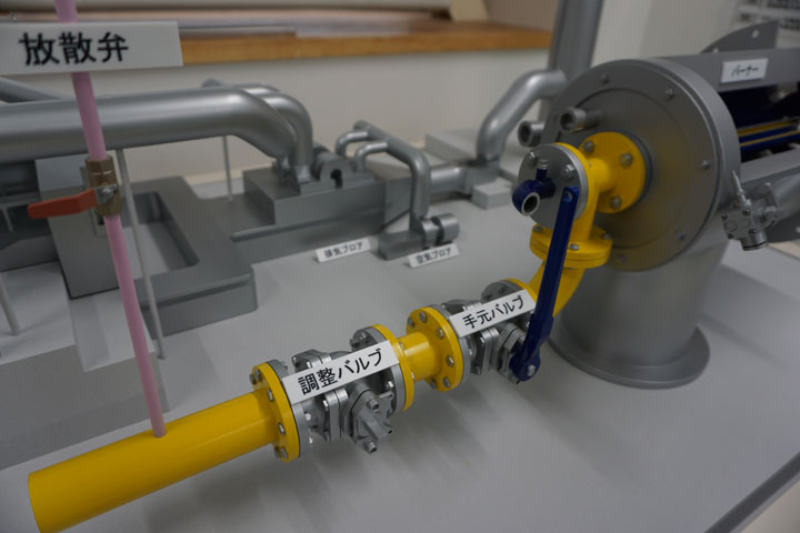 加熱炉の作業工程