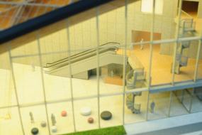 大東建託展示場の建築模型