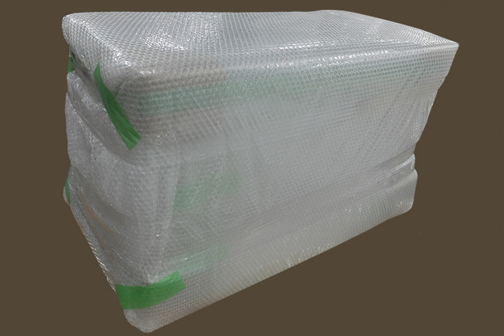 模型の運搬時梱包の状態