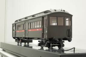 ホジ6014号蒸気動車の展示模型