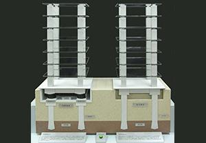 免震・制震・耐震構造模型