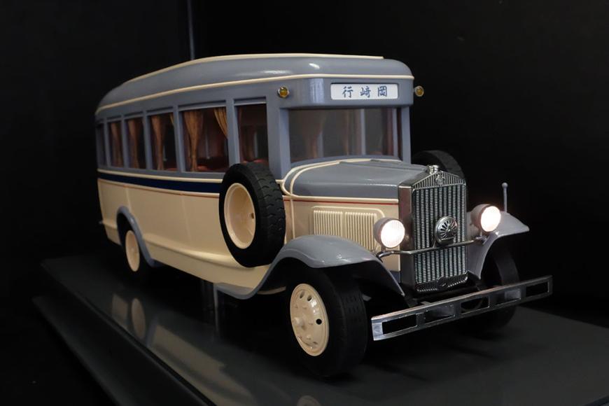 国鉄バスの展示模型