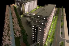 名古屋市北区の建築模型