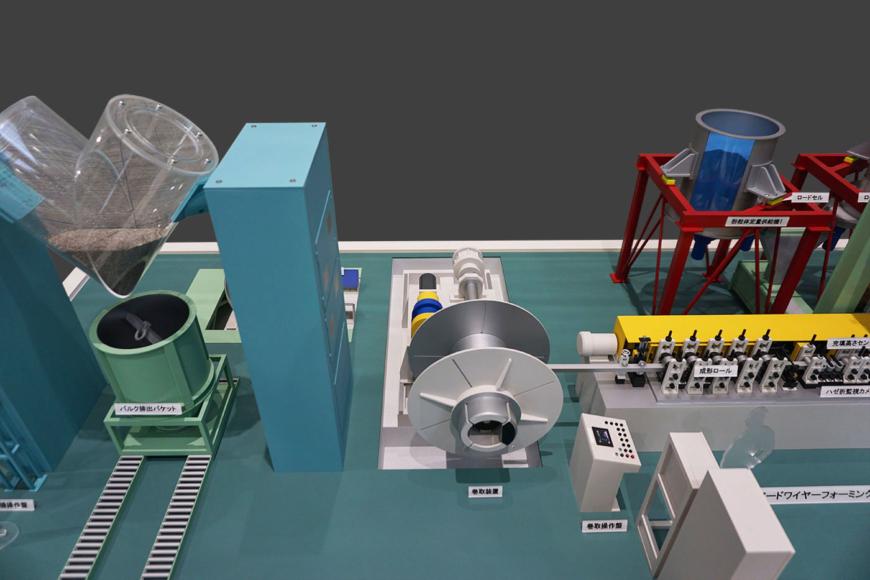 大阪特殊合金の機械模型