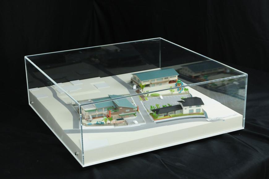 某保育施設の建築模型